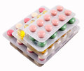 Pills package Royalty Free Stock Photo