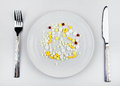 Pills in the Plate Royalty Free Stock Photo