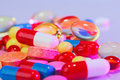 Pills, tablets and drugs Stock Photography