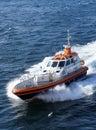 Pilot boat Royalty Free Stock Photo