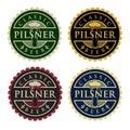 Pilsner Beer Royalty Free Stock Photo