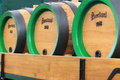 Pilsner Urquell kegs Royalty Free Stock Images