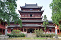 Pilu Temple, Nanjing Royalty Free Stock Photography