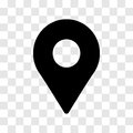 Pin location icon - vector iconic design