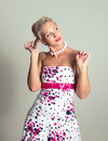 Pin-up portrait of woman Stock Photography