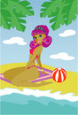 Pin-up summer Stock Photography