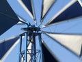 Pin-wheel dans le mouvement Photo libre de droits