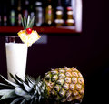 Pinacolada cocktail Royalty Free Stock Photos