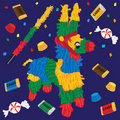 Pinata bonito do partido Foto de Stock Royalty Free