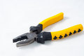 Pincer pliers on white background Stock Images