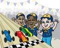 Pine Wood Derby Race