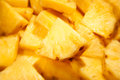 Pineapple chunks Royalty Free Stock Photo