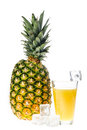 Pineapple juice Stock Photography