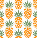 Pineapple pattern vector illustration eps Stock Images