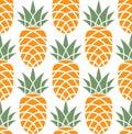 Pineapple. Pattern