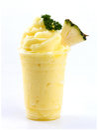 Pineapple smoothies Royalty Free Stock Photo