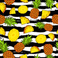 Pineapples. Summertime concept. Paradise Royalty Free Stock Photo