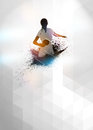 Ping pong background Royalty Free Stock Photo