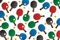 Pingpong seamless pattern suitable for decorations Stock Image