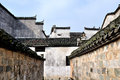 Pingshan village of ancient villages in china this is the historical and cultural building an entire practice into one is chinas Royalty Free Stock Photos