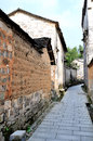Pingshan village of ancient villages in China Royalty Free Stock Photo