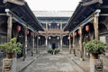 Pingyao ancient city which has been formally named as world cultural heritage by unesco Royalty Free Stock Images