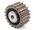 Pinion gear on a white background Stock Image