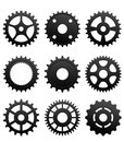 Pinions and gears Royalty Free Stock Photography