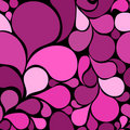 Pink abstract seamless pattern Royalty Free Stock Images