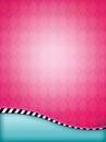 Pink Argyle Background Royalty Free Stock Photo