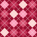 Pink Argyle Pattern Royalty Free Stock Image
