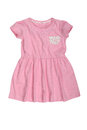 Pink baby dress isolated on white Royalty Free Stock Photo