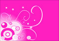 Pink background (circle) Stock Images