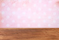 Pink background with grunge frame Royalty Free Stock Photo