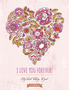 Pink Background With Valentine...