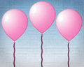 Pink Balloons Stock Photos