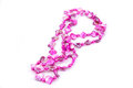 Pink beads Stock Photos
