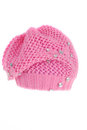 Pink beret Royalty Free Stock Photo