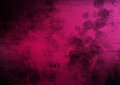 Pink black grunge abstract background with circle Royalty Free Stock Image