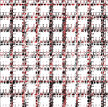 Pink and black mosaic repeated pattern and design