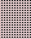 Pink and black squares seamless vector pattern