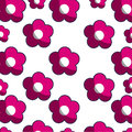 Pink blossom pattern floral design