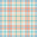 Pink blue plaid Royalty Free Stock Photos