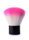 Pink blush brush isolated on white Royalty Free Stock Photo