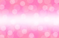 Bokeh pink abstract background wallpaper Royalty Free Stock Photo