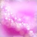Pink bokeh background