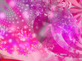 Pink bonanza fractal Royalty Free Stock Images