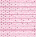 Pink brick wall, background Stock Photography