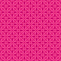 Pink Brown Colors Flower Pattern Design. Korean traditional Patt Royalty Free Stock Photo