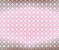 Pink Brown Geometric Wallpaper Background Royalty Free Stock Photo